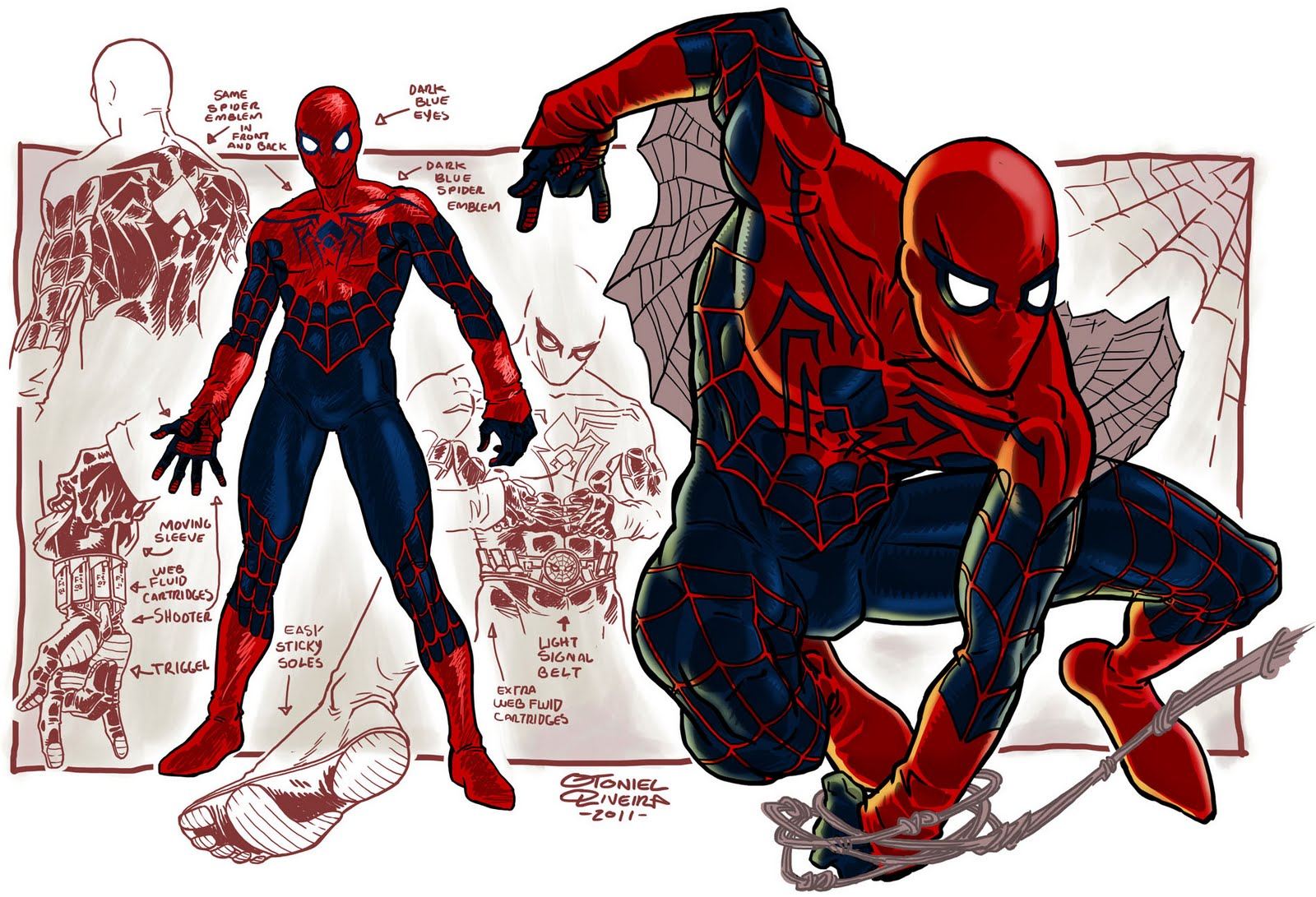 Spiderman clipart arachnid Rooftop Mentions Webhead 2 Otoniel
