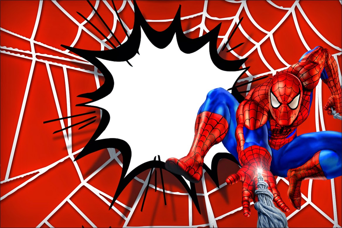 Spiderman clipart template Printable Spiderman: Is it Free