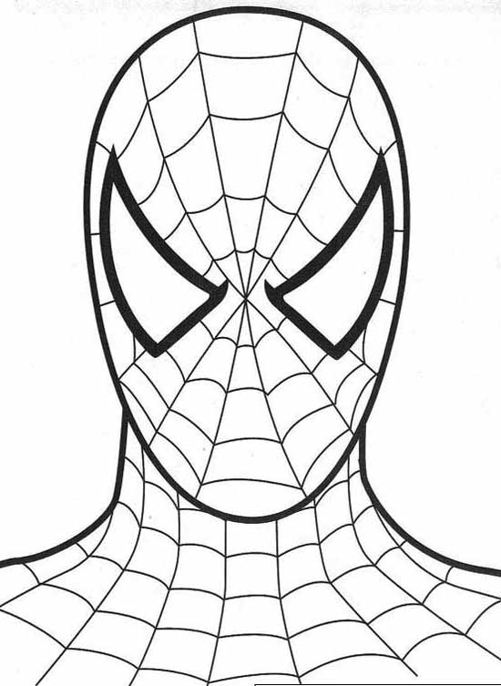 Spiderman clipart black and white Favor bags cake for spiderman