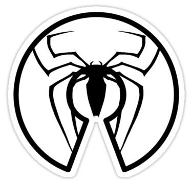 Spiderman clipart black and white Man white white and clipart