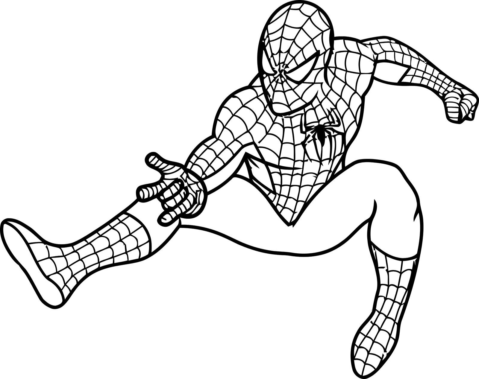 Spiderman clipart black and white Kid 2 black man Spiderman