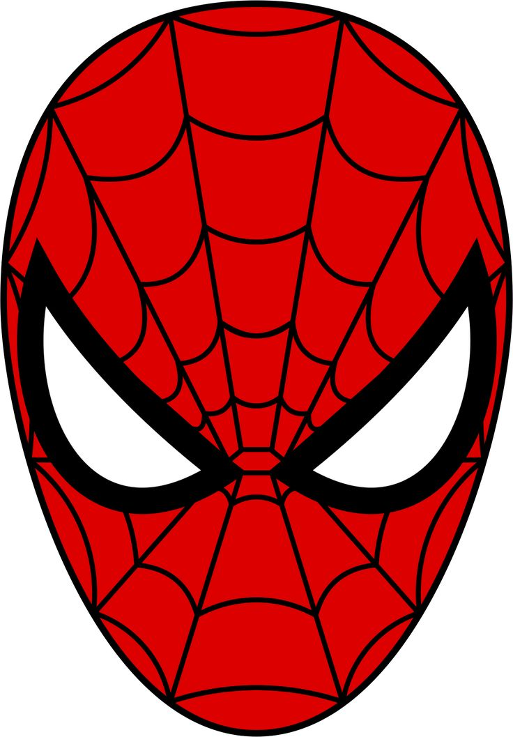 Spiderman clipart caricature Man From 25+ Mask Templates
