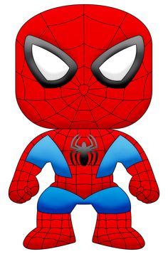 Spiderman clipart cartoon character  cartoon Say free character