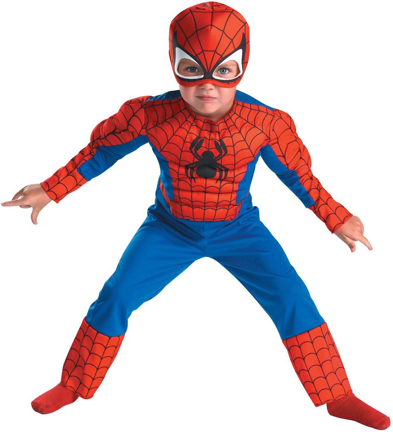 Spiderman clipart chest Costume Mr Toddler  SpiderMan