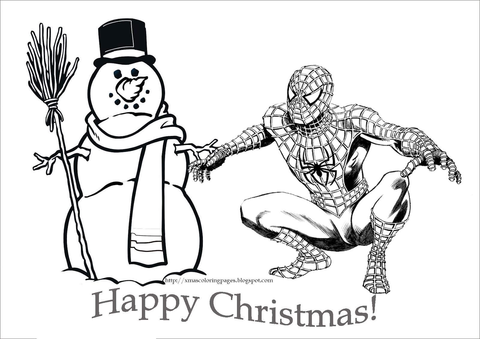 Spiderman clipart christmas Boy Spider clipart boy black