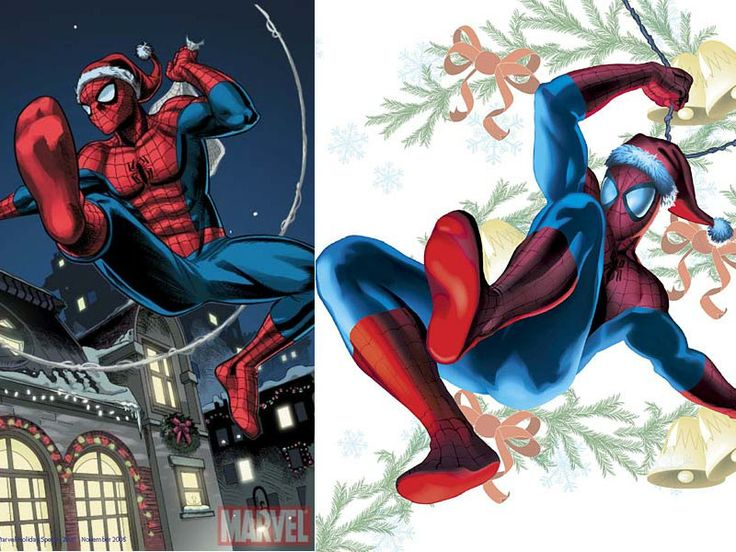 Spiderman clipart christmas About images Google christmas Search