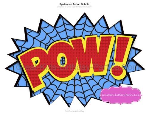 Word clipart spiderman Printables Superhero Spider Spiderman Clipart