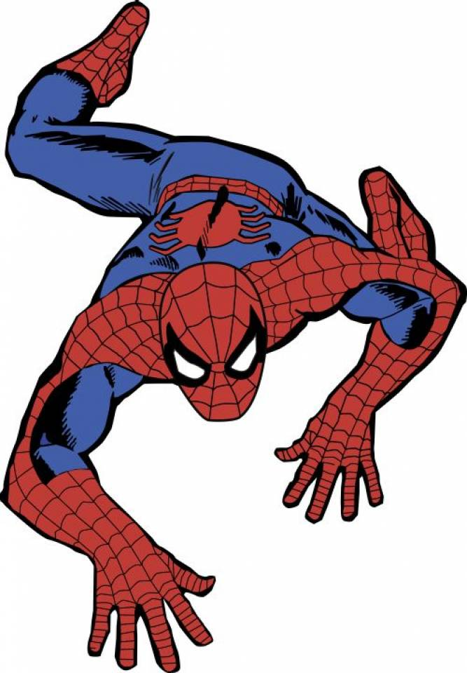 Spiderman clipart romita The Look the Spider Over