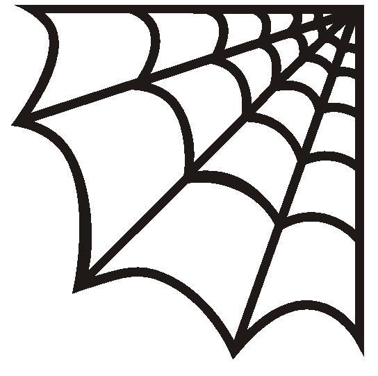 Spiderman clipart cobweb The on made print Cobweb