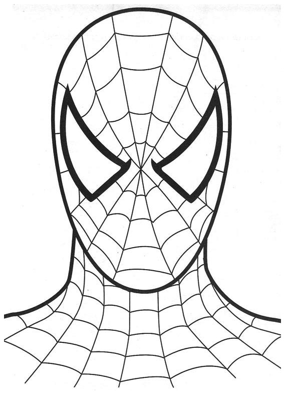Spiderman clipart coloring Spiderman coloring coloring coloring spiderman