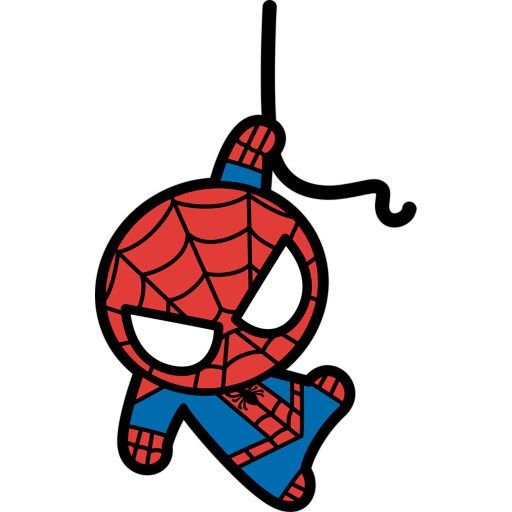 Spiderman clipart chibi On Spiderman spiderman images Kawaii