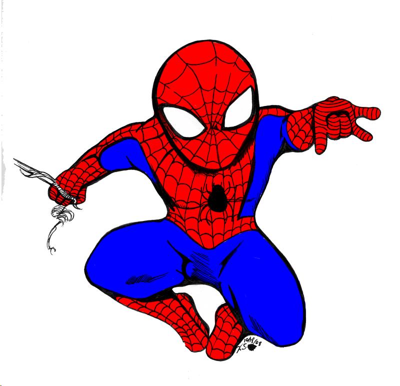 Spiderman clipart deviantart Chibi BeekzGaming on Spiderman BeekzGaming