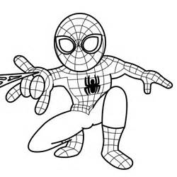 Spiderman clipart for kid Kid man  Draw Spiderman