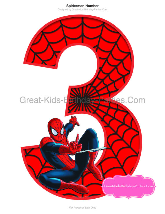 Spiderman clipart for kid Ibraltino Birthday Spiderman Instant Party