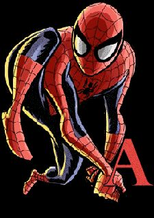 Spiderman clipart letter Super telaraña my Oh Spiderman
