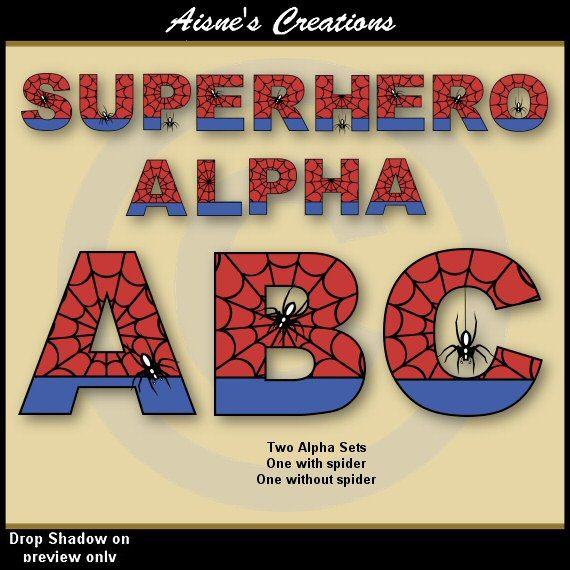 Spiderman clipart letter Numbers more Numbers 51 clip