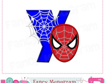 Spiderman clipart letter Y Spiderman Spiderman Y Y