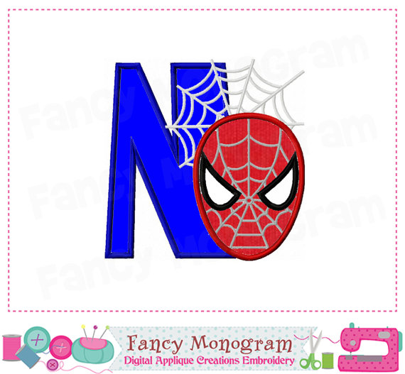Spiderman clipart letter N Spiderman Font Spiderman Spiderman