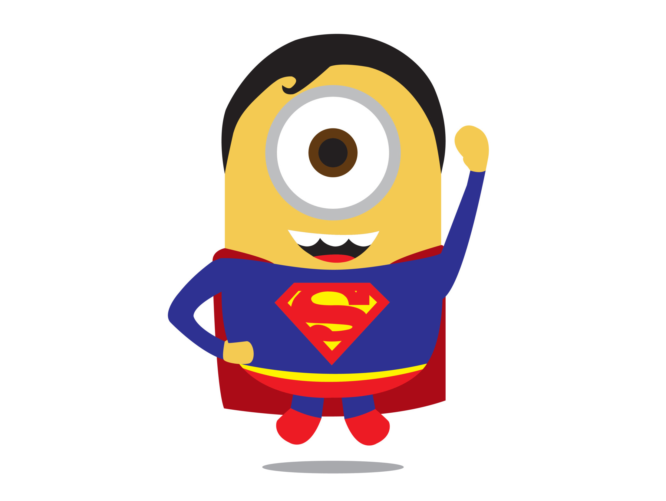 Superman clipart minion Cute Images Collection Me Of