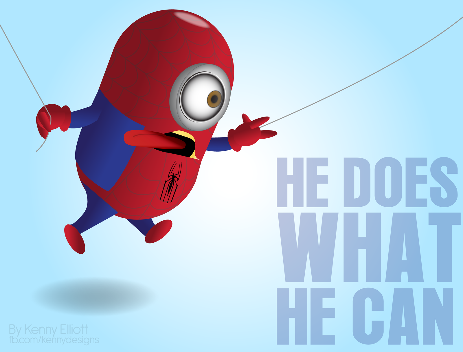 Spiderman clipart minion For of AVENGERS Art More