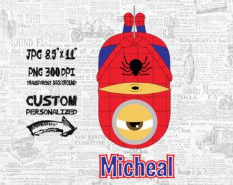 Spiderman clipart minion Spiderman or minion Perfect Use