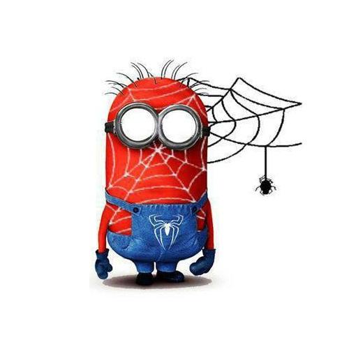 Spiderman clipart minion Always together  Reimagined Spiderman