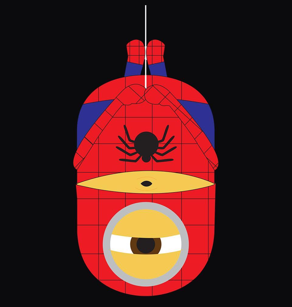 Spiderman clipart minion SpiderMan Buy Online @ Hoodie