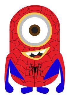 Spiderman clipart minion This minion  Google spiderman