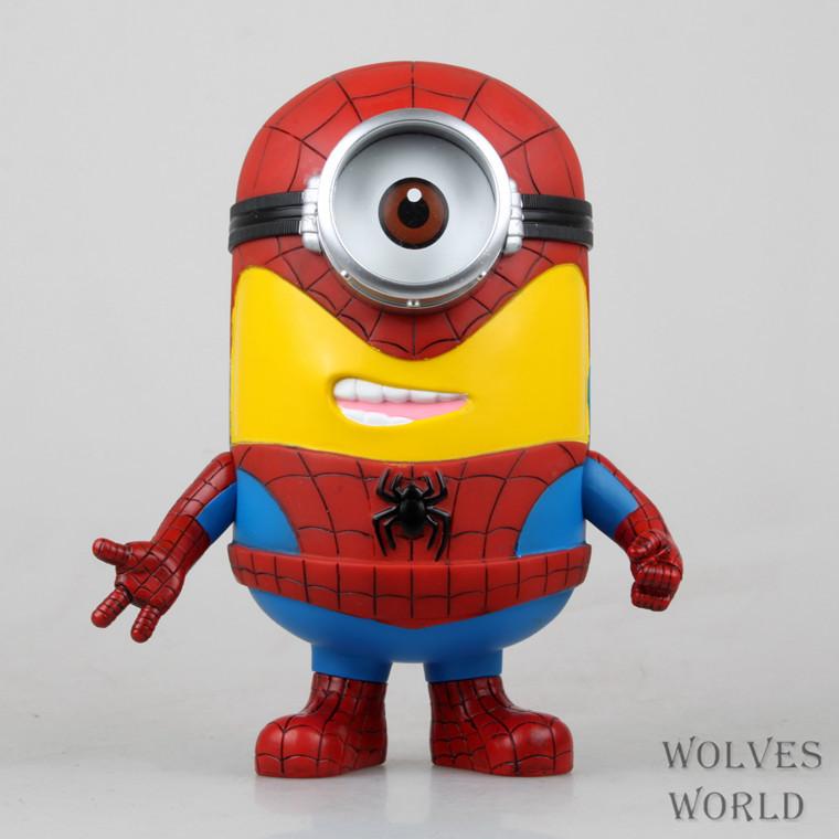 Spiderman clipart minion Search com by image