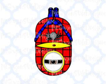 Spiderman clipart minion Spiderman PNG Studio Spiderman Minion