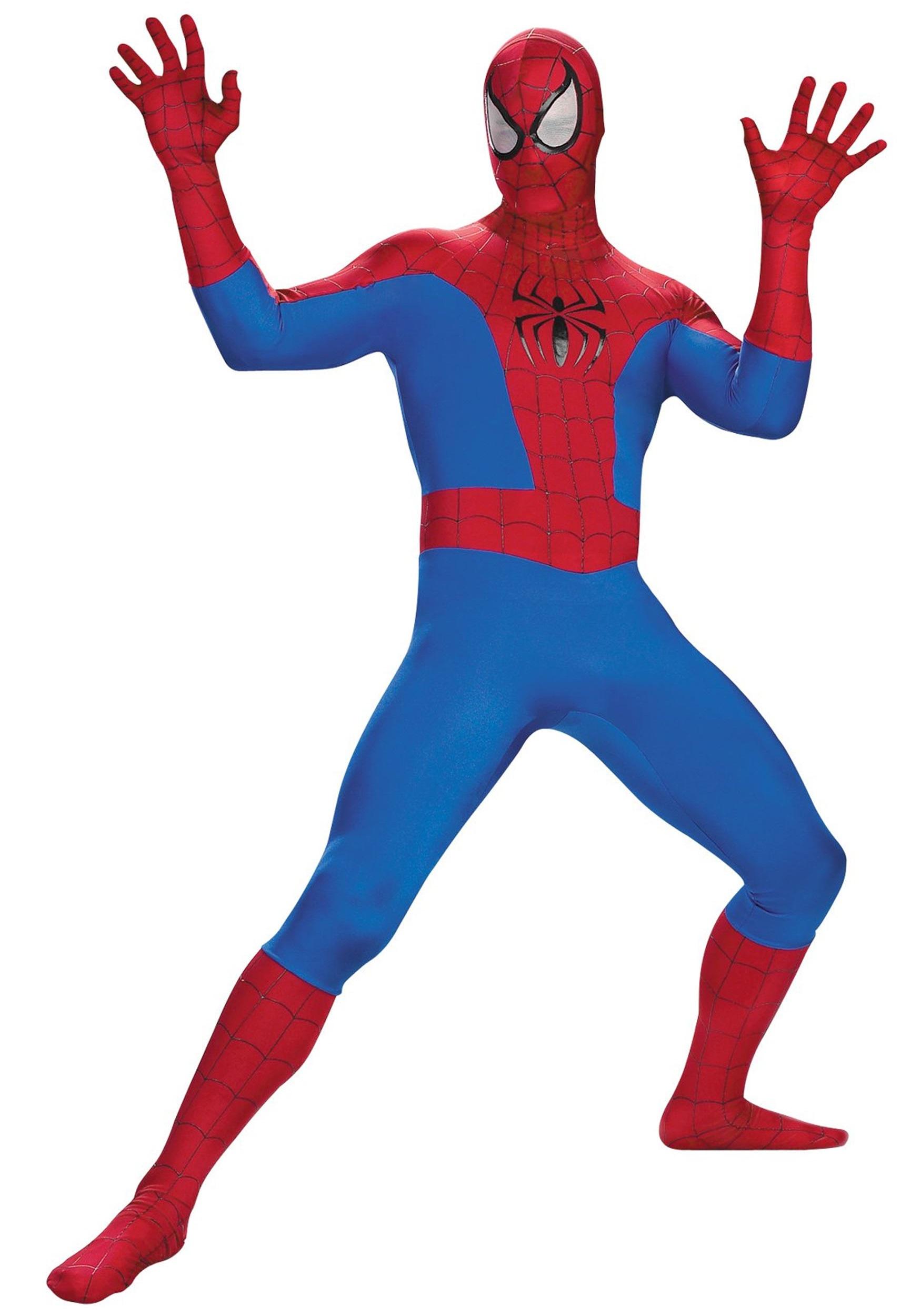 Spiderman clipart show me Costumes Realistic Teen HalloweenCostumes Spiderman