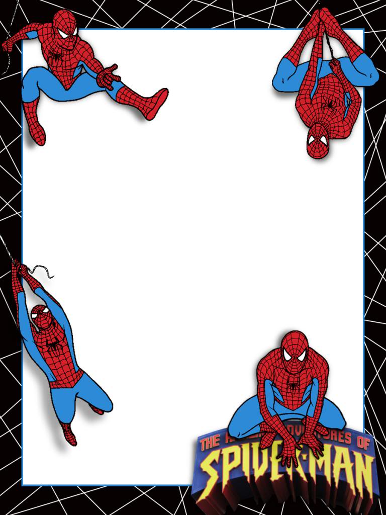 Spiderman clipart simple  Click to A journal