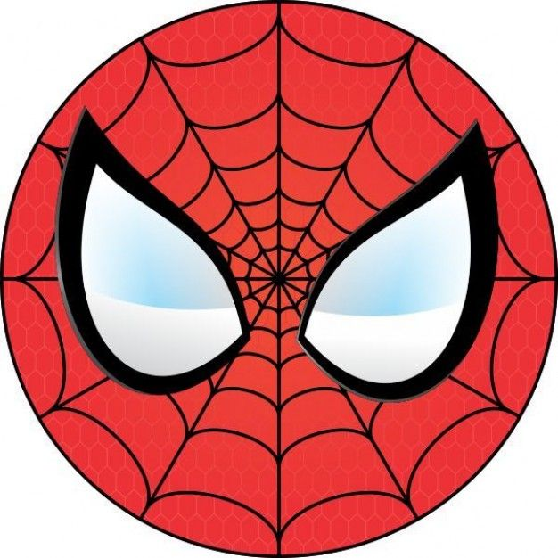 Spiderman clipart simple Images Clipart Spiderman 33 Face