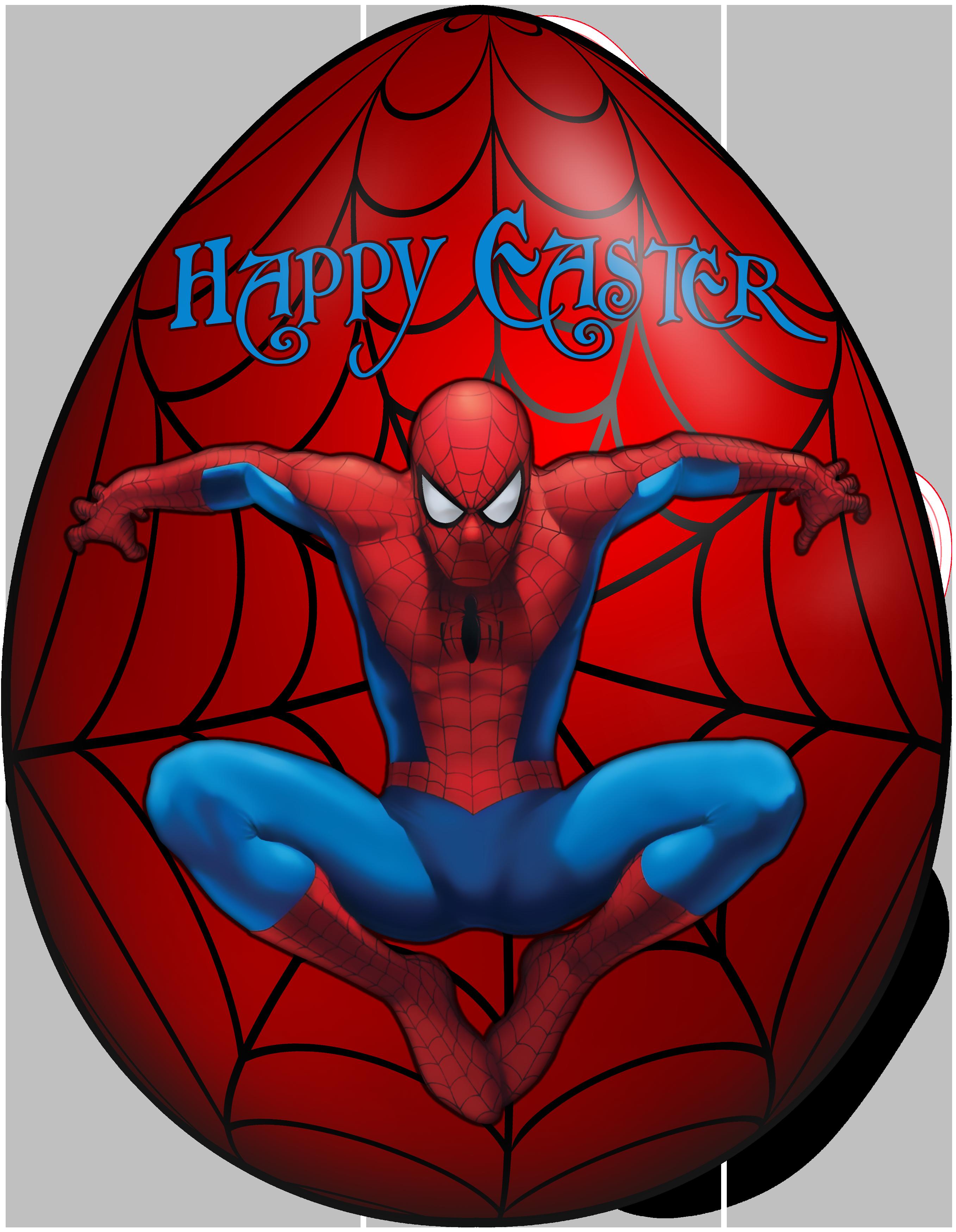 Spiderman clipart transparent Egg PNG Kids Clip size