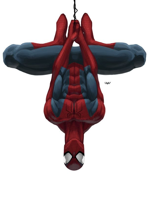 Spiderman clipart spider hanging And out Pinterest images Man