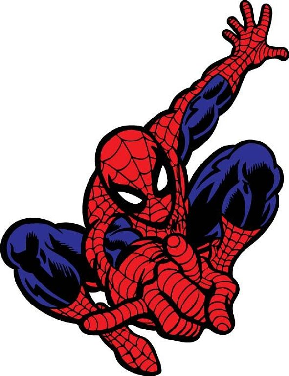 Spiderman clipart svgz Templates alesi design Invitation Birthday