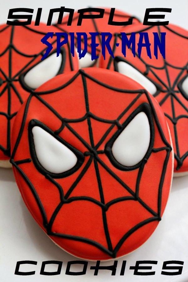 Spiderman clipart template Adventures cookies man sweet simple