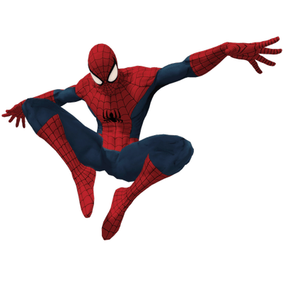 Spiderman clipart transparent Between StickPNG transparent Flying Arms