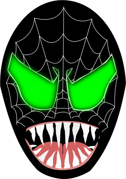 Spiderman clipart vector Venom web ai  Venom