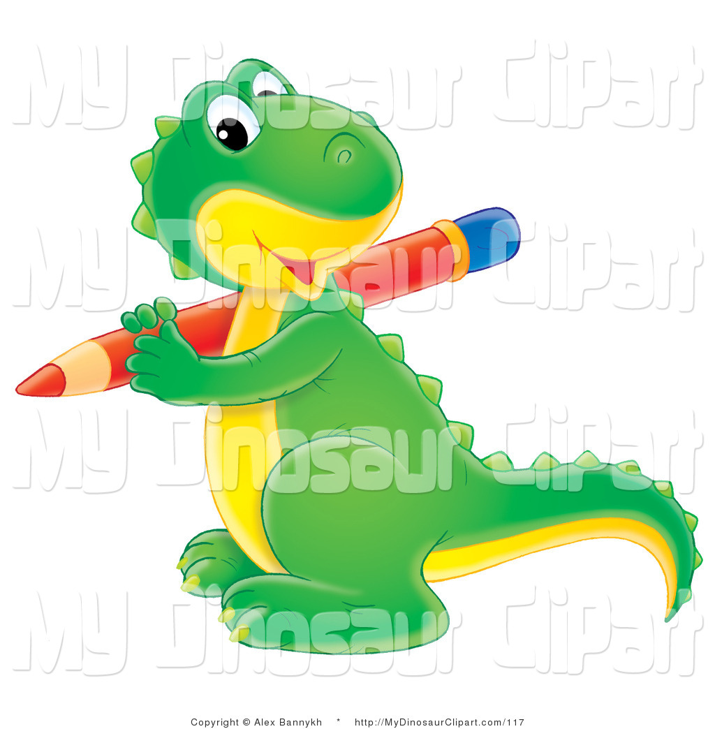 Pencil clipart dinosaur The Dinosaurs Baby Red Green