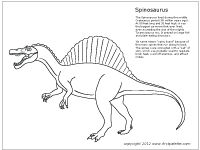 Spinosaurus clipart On Dinosaur Pin pages and