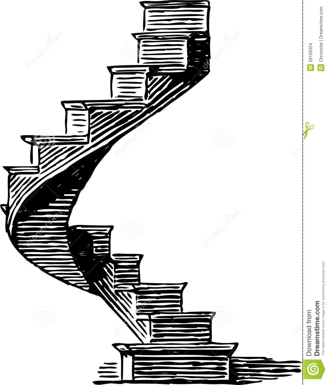 Book clipart staircase Stairway Free Clipart stairway%20clipart Images