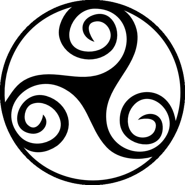Celt clipart celtic knot Stencil clip art Triskell vector