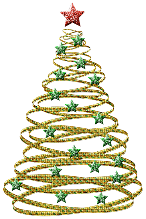 Western clipart christmas tree Spiral Christmas Clipart tree clipart