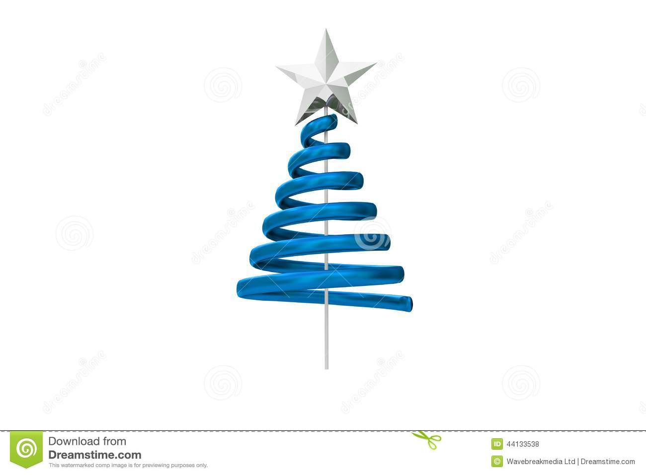 Spiral clipart christmas tree Christmas christmas Media Images Clipart