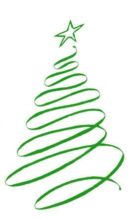 Spiral clipart christmas tree Free christmas tree free tree