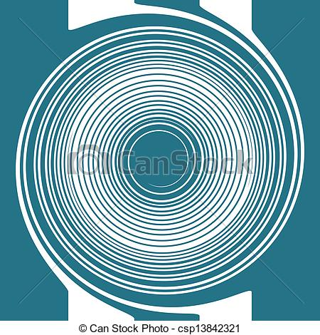 Spiral clipart dizzy Blue and of Art a