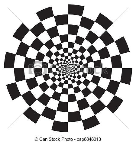 Spiral clipart dizzy Black on Design csp8848013 Pattern