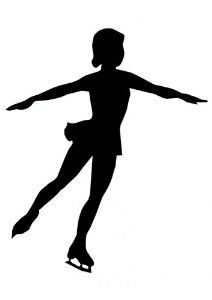 Spiral clipart figure skating Cliparts Art Spiral Cliparts Silhouette