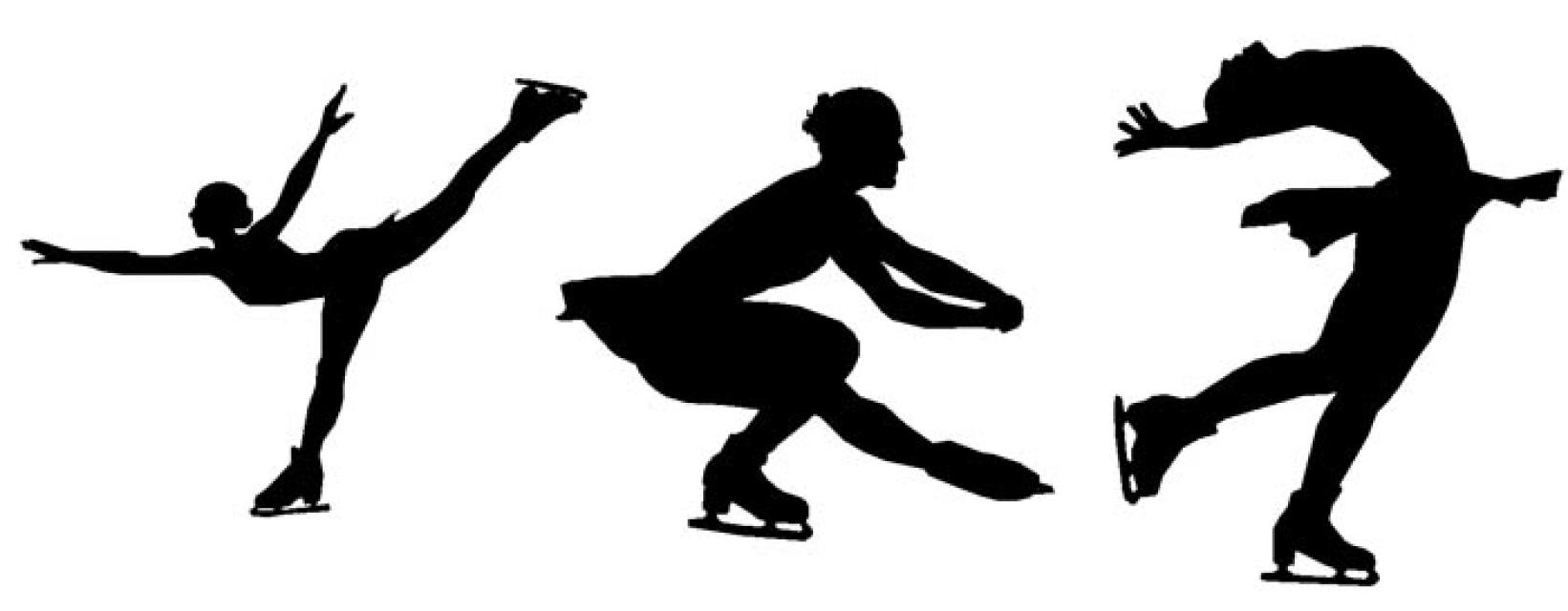 Spiral clipart figure skating Art Spiral skating Clip Family